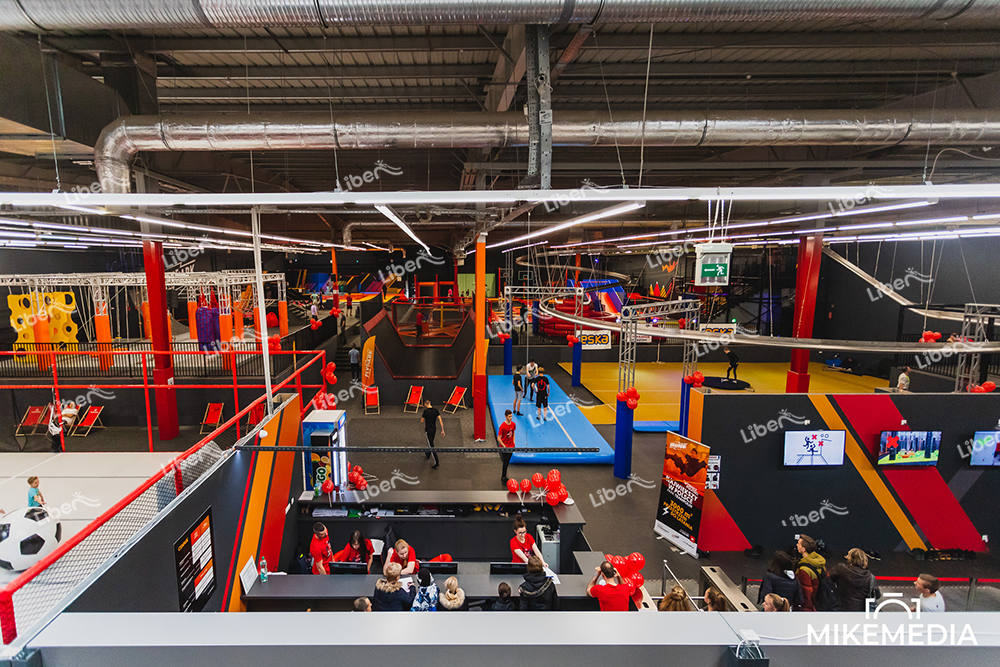 Liben Finland Trampoline Park with New Games