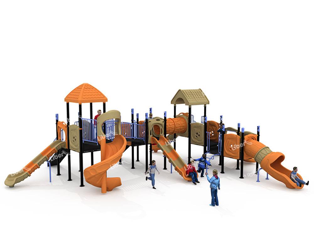 outdoor combined slide-2