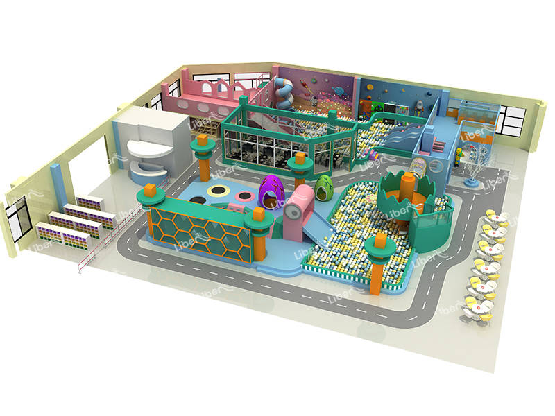 Custom Theme Kids Indoor Playground