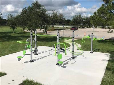 Outdoor fitness equipment project (1)