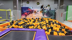 What is the value of an indoor trampoline park?