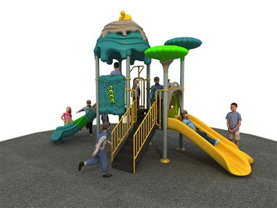 Fairy Tale Theme Liben Outdoor Playground Slide