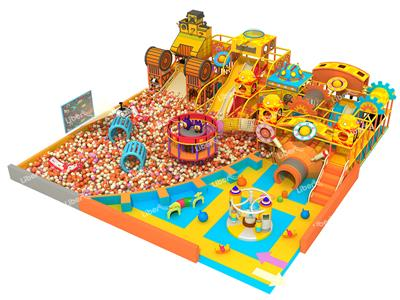 Liben  Engineer Theme Indoor Playground Equipment