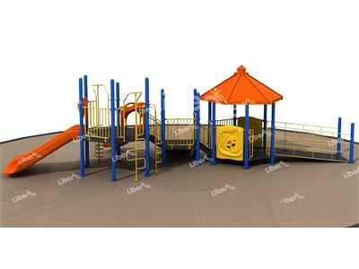 Disabled Series  Outdoor Playground Slide
