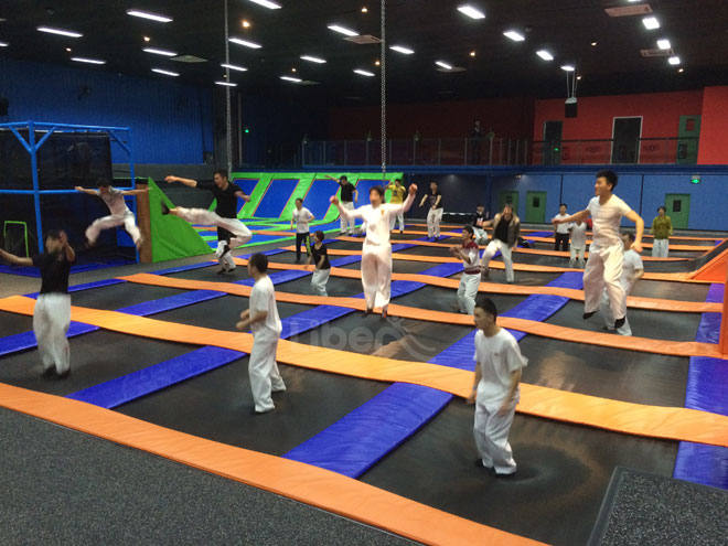 Trampoline Park Manufacturer-Free Jumping zone