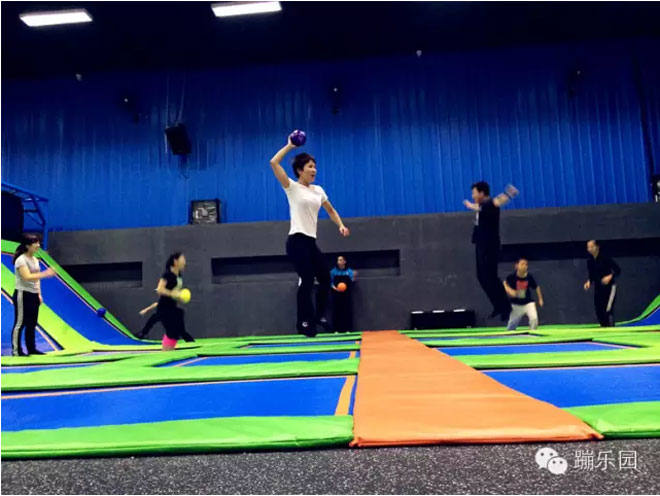 Liben Customize Trampoline Park Project-Dodgball Zone