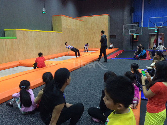 Liben Customize Trampoline Park Project-Gymnastic