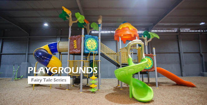 Fairy Tale Backyard Playground Supplier Design