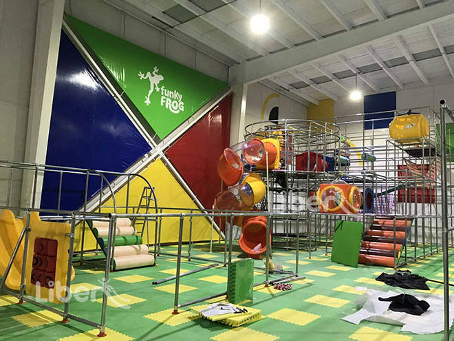 Liben Indoor Playground Soft Play Center Project in Mexico