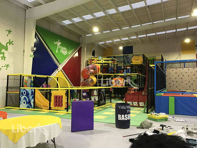 Liben Indoor Playground Soft Play Center Project in Mexico-1