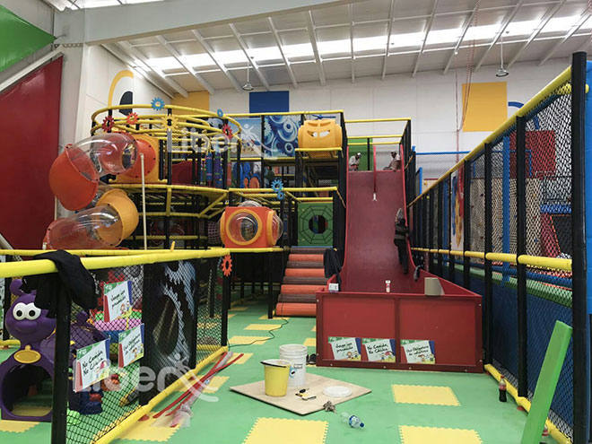 Liben Indoor Playground Soft Play Center Project in Mexico-2