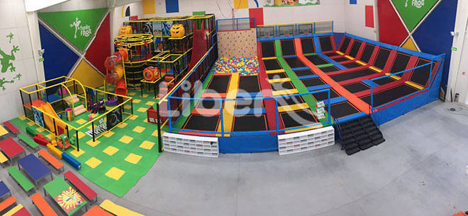 LIBEN TRAMPOLINE PARK PROJECT IN MEXICO